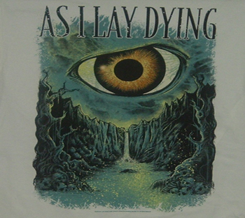As I Lay Dying Death Valley Metal T Shirts