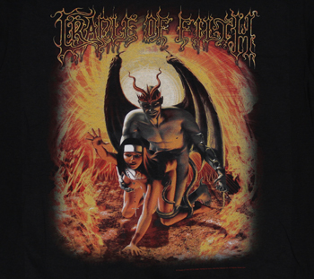 Cradle Of Filth Get Thee Behind Me Satan Metal T Shirts