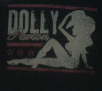 Dolly Parton Silhouette Rock T Shirts