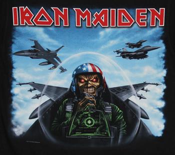 Iron Maiden Texas Jet Fighter Metal T Shirts